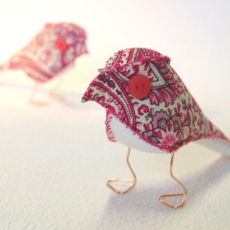 Pink Paisley Finch