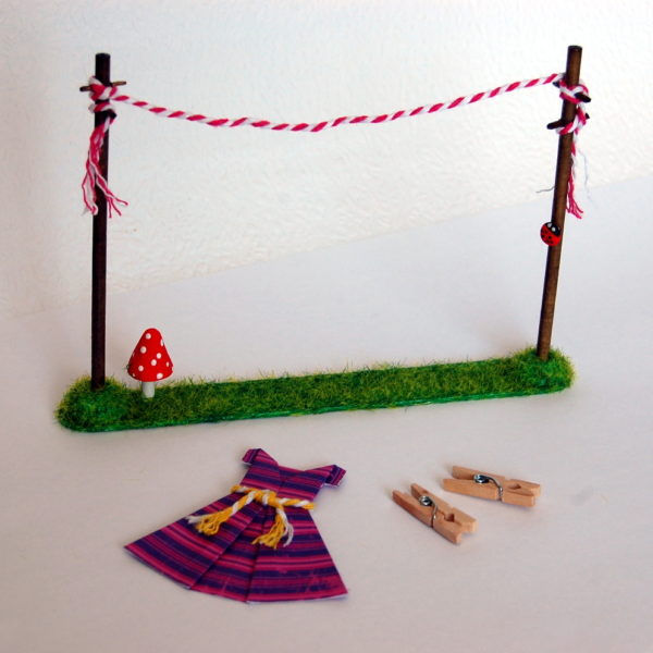 miniature washing line