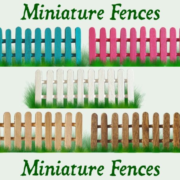 Miniature Fences
